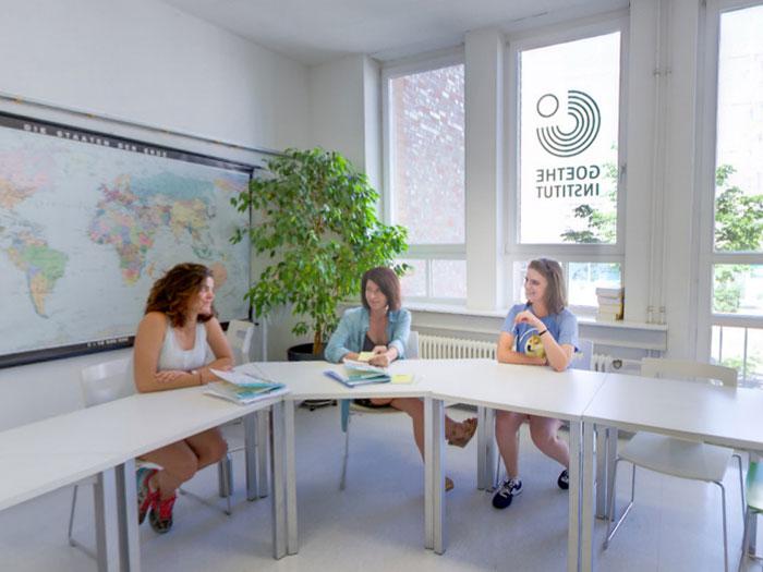 Séjour linguistique Allemagne, Freiburg - Goethe Institut Freiburg - Leçon - © Goethe-Institut Markus Schwerer