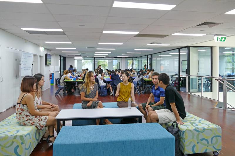 Sprachaufenthalt Australien, Cairns - Cairns College of English Cairns - Aufenthaltsraum