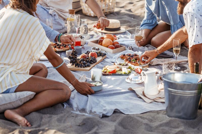 Séjour linguistique Costa Rica, Pique nique sur la plage