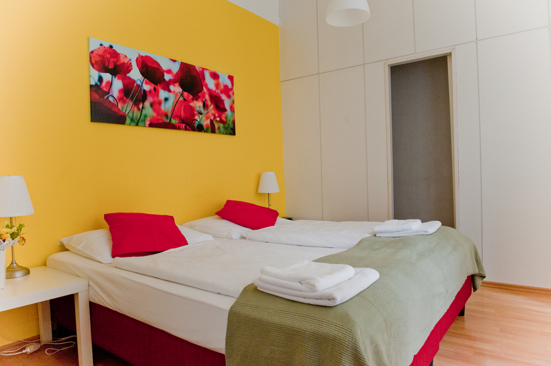 Sprachaufenthalt Österreich, Wien - Actilingua Academy Vienna - Accommodation - Apartment Actilingua Studio - Zimmer