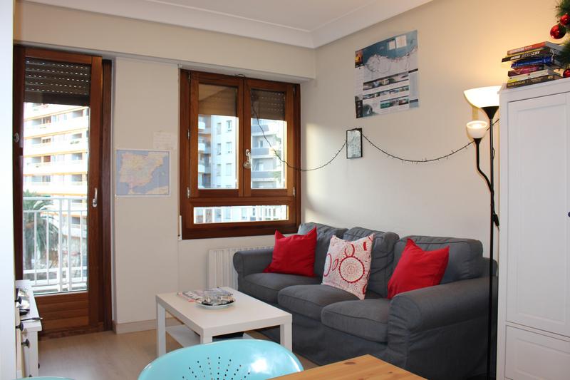 Sprachaufenthalt Spanien, San Sebastian - La Cunza - Accommodation - Shared Apartment - Wohnzimmer