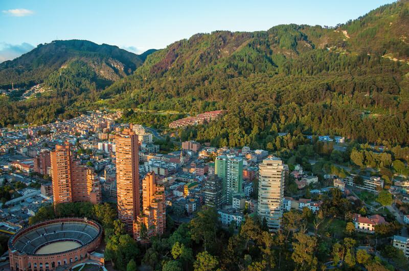 Sprachaufenthalt Kolumbien, Bogota - Andes Mountains