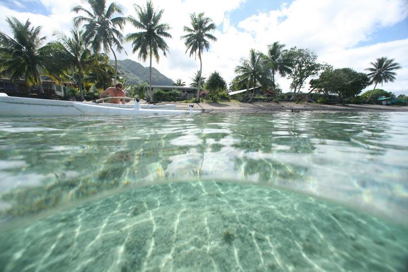 Séjour linguistique Tahiti, Puna'auia - Le Cours d'école Papara Tahiti