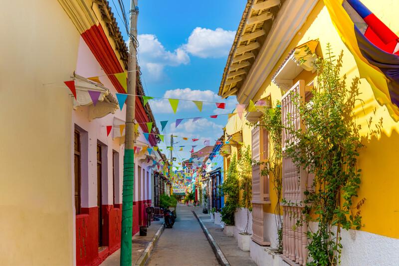 Séjour linguistique Colombie, Cartagena - Getsemani district