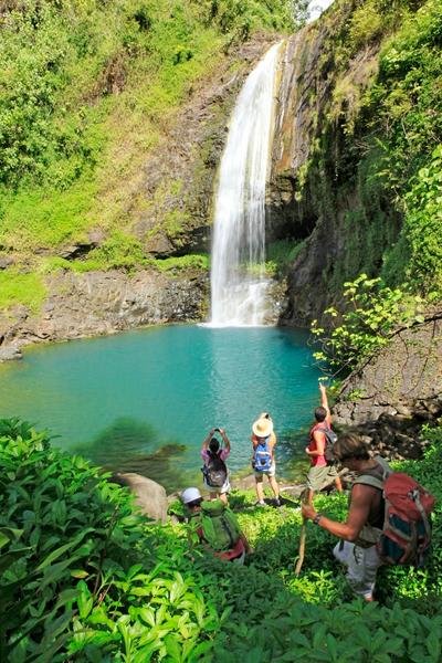 Séjour linguistique Tahiti, Puna'auia - Le Cours d'école Papara Tahiti - Excursion