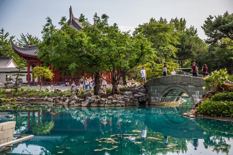 Séjour linguistique Canada, Montréal - Jardin botanique