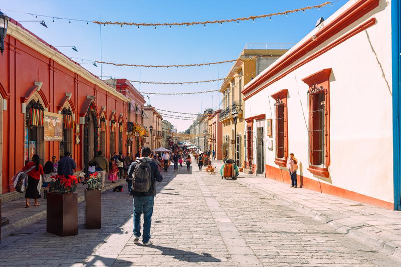 Sprachaufenthalt, Mexiko, Strasse