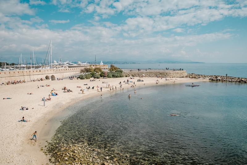 Séjour linguistique France, Antibes - Plage