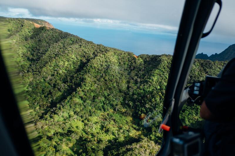 Séjour linguistique États-Unis, Hawaii - Honolulu - Tour d'hélicoptère