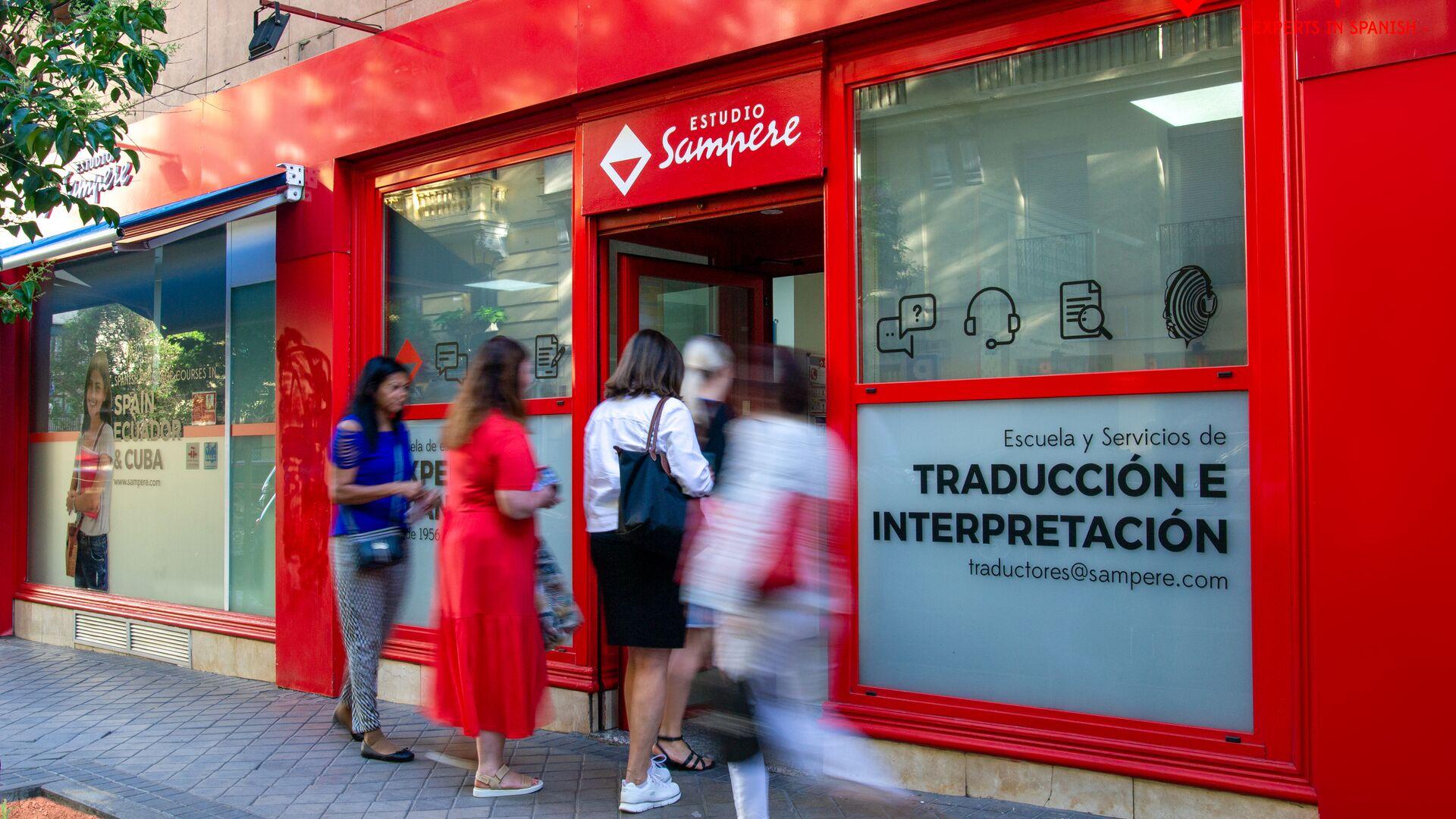 Sprachaufenthalt Spanien, Madrid - Estudio Sampere Madrid - Schule