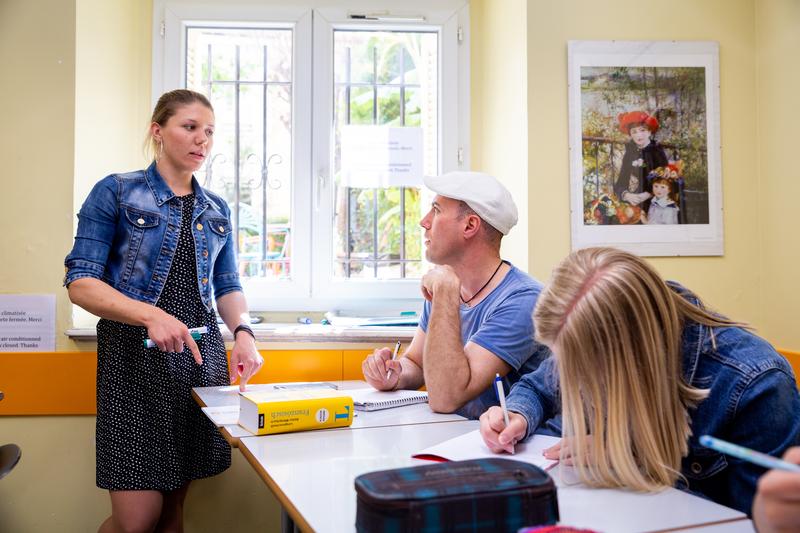 Sprachaufenthalt Nizza, École Azurlingua - Lektionen