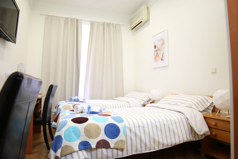 Sprachaufenthalt Spanien, Madrid - Don Quijote Madird - Accommodation - Residenz - Doppelzimmer