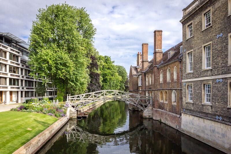Sprachaufenthalt England, Cambridge - Mathematical Bridge