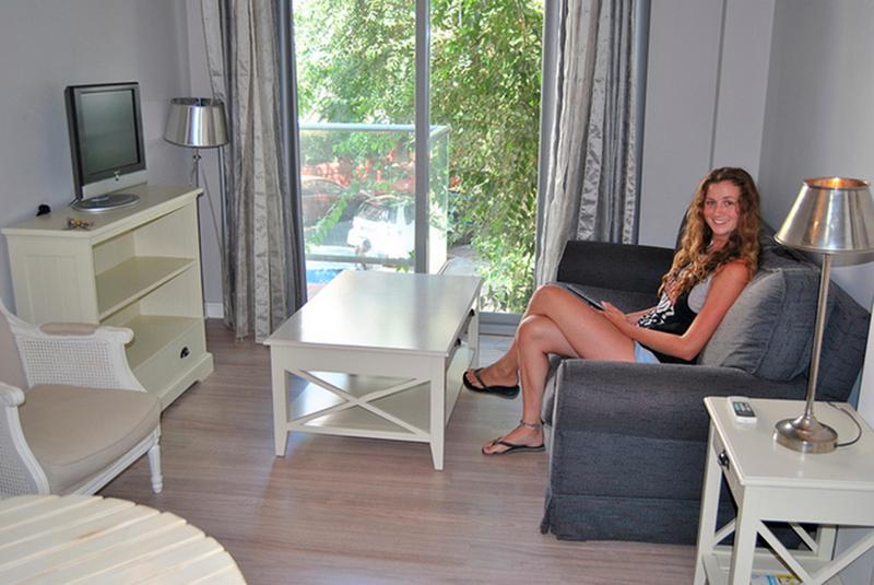 Sprachaufenthalt-Spanien, Cádiz - CLIC Cádiz - Accommodation - Apartment - Wohnzimmer