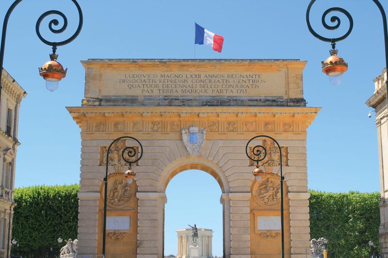 Sprachaufenthalt Frankreich, Montpellier - Park