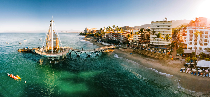 Sprachaufenthalt Mexiko, Puerto vallarta - Pier