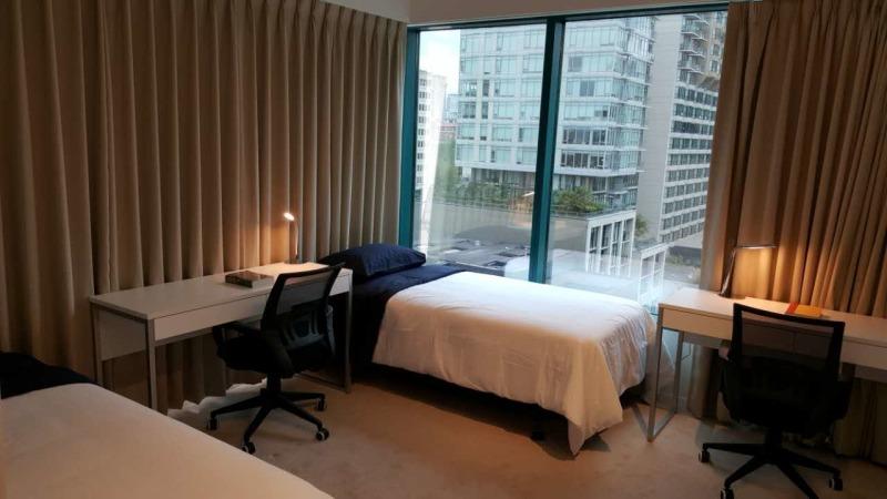 Sprachaufenthalt Kanada, Vancouver - EC - Accomodation - Viva Tower - Doppelzimmer