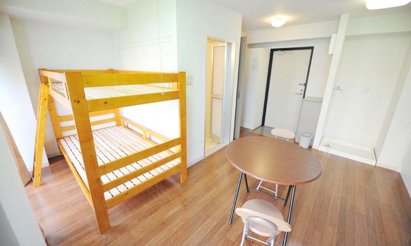 Sprachaufenthalt Japan, Tokio - Genki Japanese School Tokio - Accommodation - Residenz - Schlafzimmer