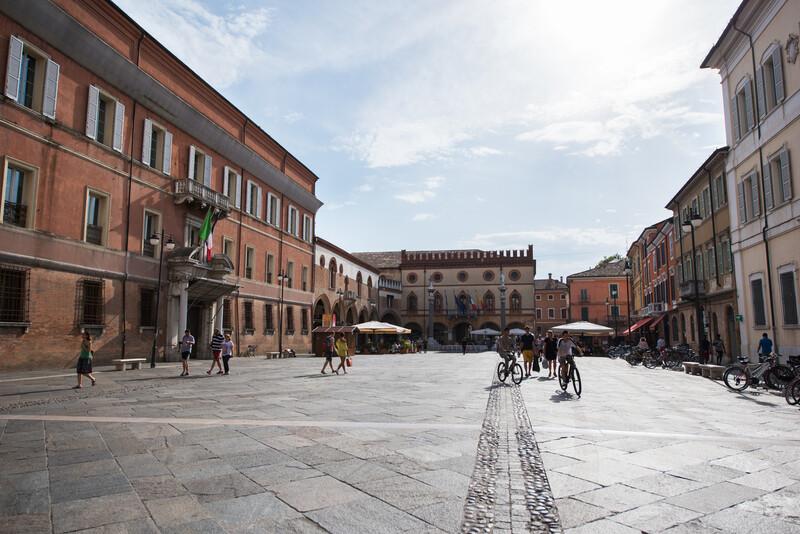 Sprachaufenthalt Italien, Ravenna - Central Square