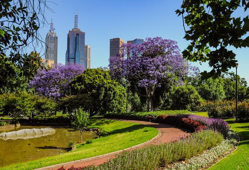 Séjour linguistique Australie, Melbourne - Royal Botanic Gardens