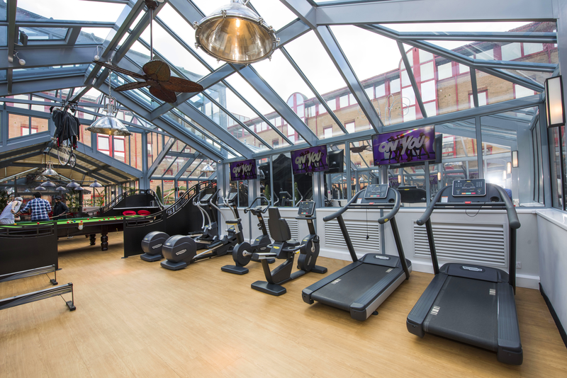 Sprachaufenthalt England, Cambridge - St Giles Cambridge - Accommodation - Study Inn - Gym