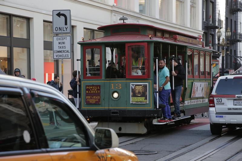 Sprachaufenthalt USA, San Francisco - Cable Car