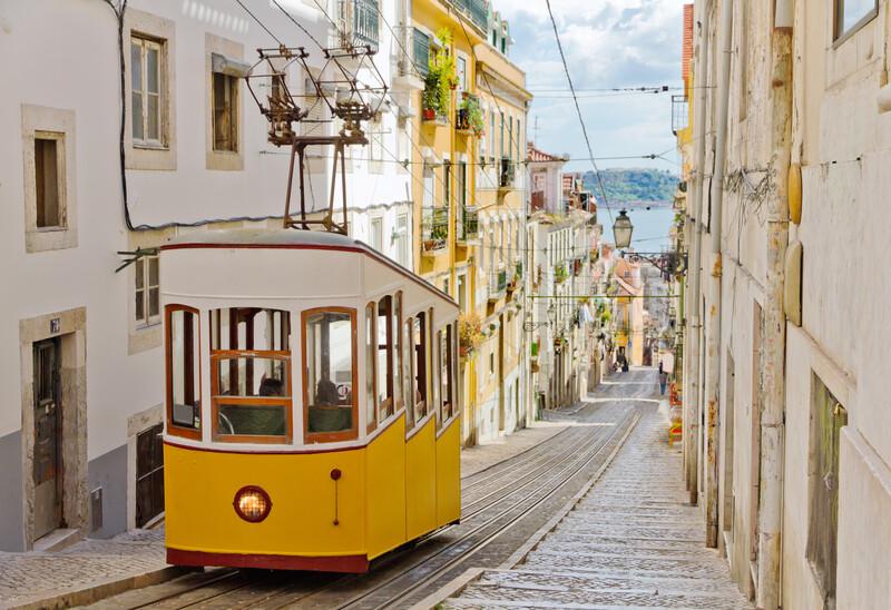 Séjour linguistique Portugal, Lisbonne - Tram