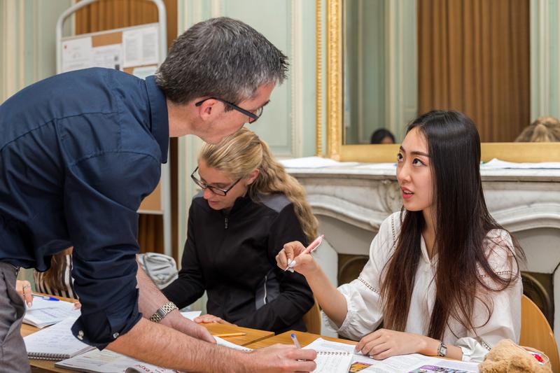 Séjour linguistique France, Tours - Institut de Touraine Tours - Leçons