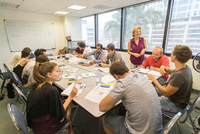 Séjour linguistique États-Unis, Fort Lauderdale - The Language Academy Fort Lauderdale - Leçons