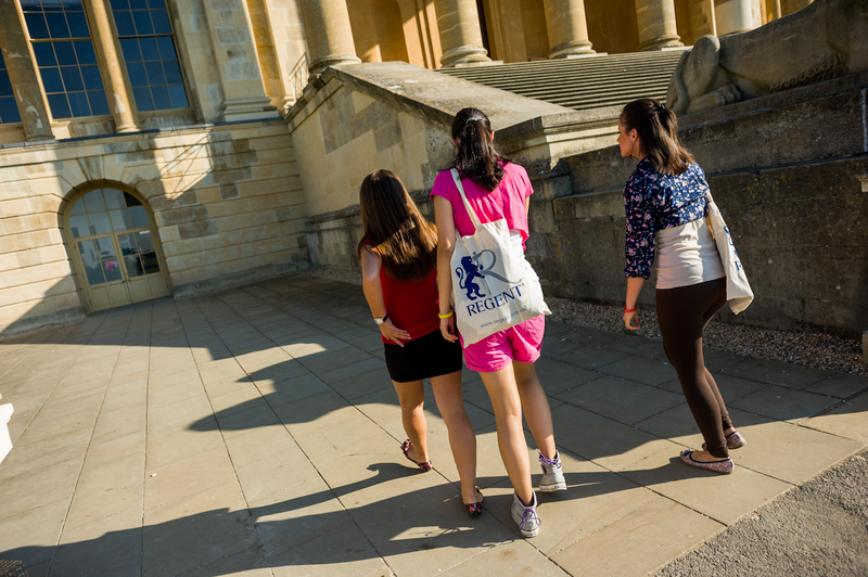 Sprachaufenthalt England, Buckingham - OISE Stowe - Studenten