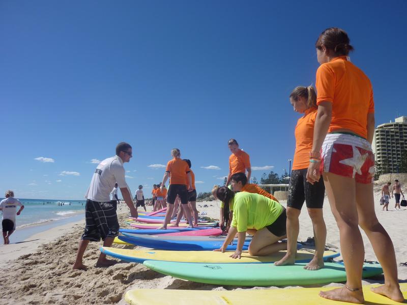 Sprachaufenthalt Australien, Perth - Lexis Perth - Surfen