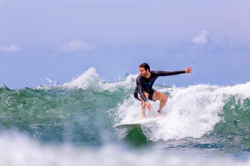 Sprachaufenthalt Frankreich, Biarritz - Surfer