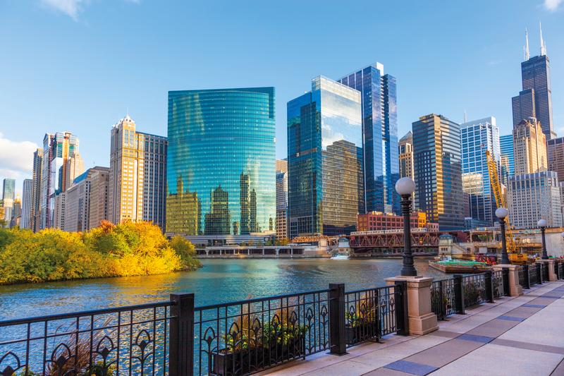 Sprachaufenthalt USA, Chicago - Skyline