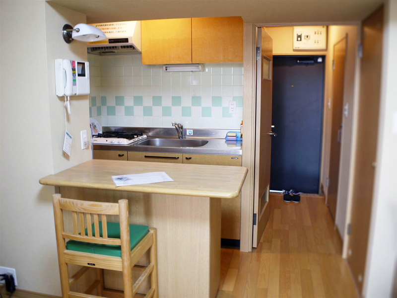Sprachaufenthalt Japan, Fukuoka - Genki Japanese School Fukuoka - Accommodation - Apartment - Küche