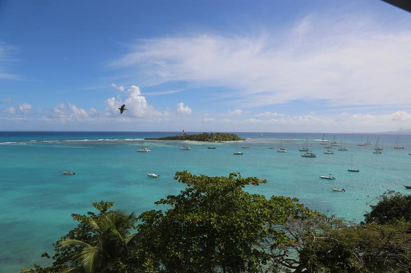 Sprachaufenthalt Guadeloupe, Le Gosier - IMLC - Ausblick