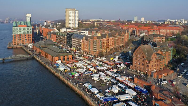 Sprachaufenthalt Deutschland, Hamburg - Fischmarkt
