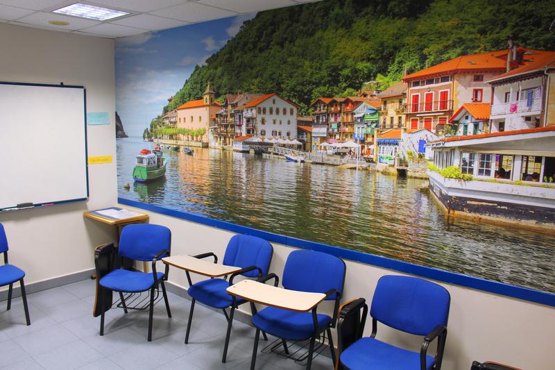 Séjour linguistique Espagne, San Sebastian - Lacunza International House San Sebastián – Salle de classe