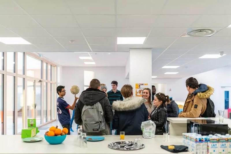 Sprachaufenthalt Frankreich, La Rochelle - Inlingua la Rochelle - Accommodation - Residence Utopia - Studenten