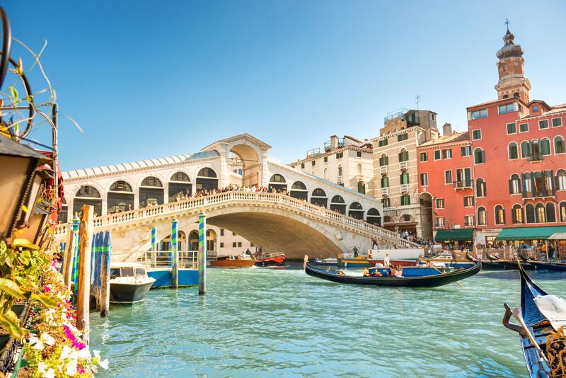 Sprachaufenthalt Italien, Venedig - Brücke