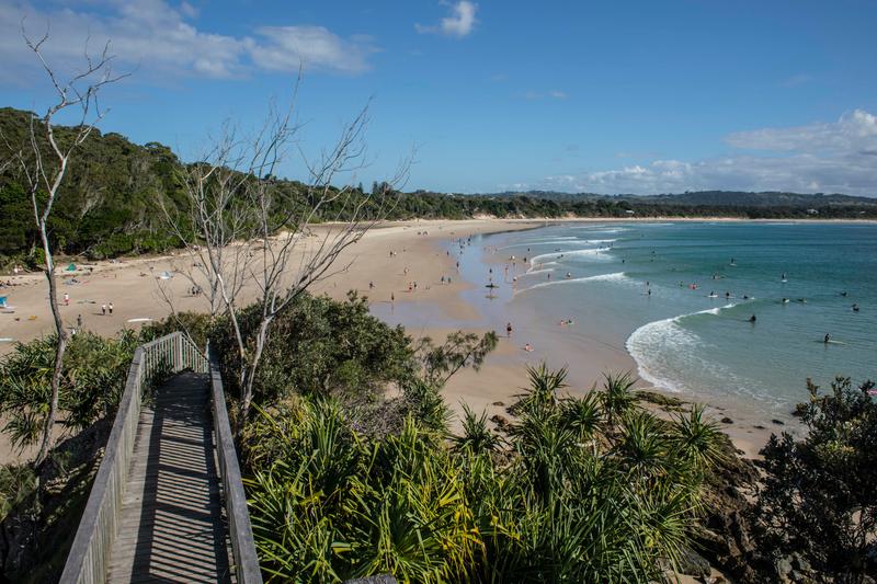 Séjour linguistique Australie, Byron Bay - Plage