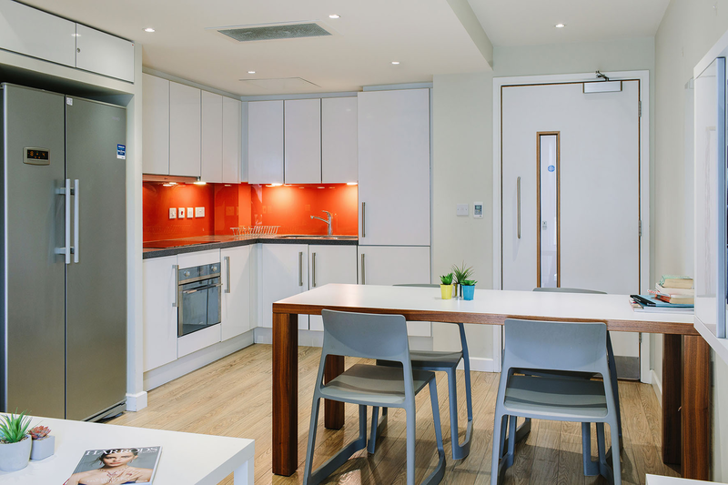 Sprachaufenthalt England, London - EC - Accommodation - Drapery Plaza Residence - Küche