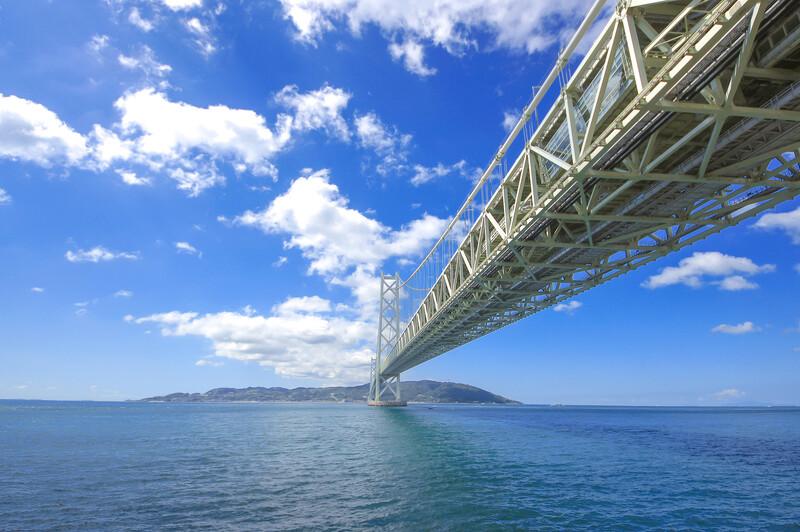 Sprachaufenthalt Japan, Kobe - Hängebrücke