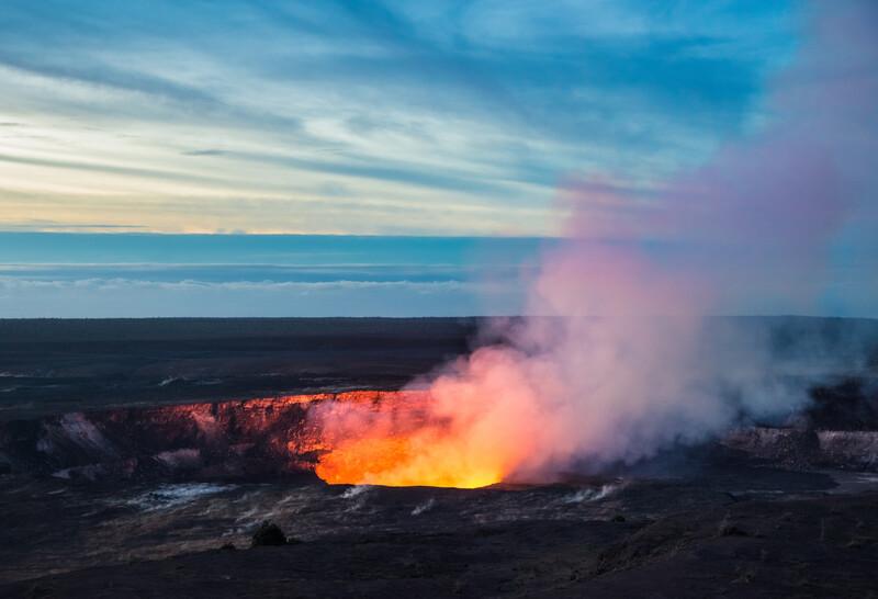 Séjour linguistique États-Unis, Hawaii - Tour de lave