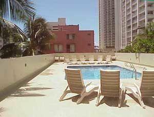 Sprachaufenthalt USA, Hawaii - IIE - Accommodation - Apartment Park Heights - Anlage