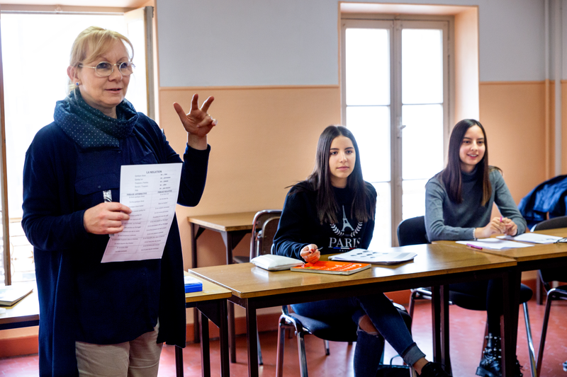 Sprachaufenthalt Frankreich, Cannes - Collège International de Cannes - Lektionen