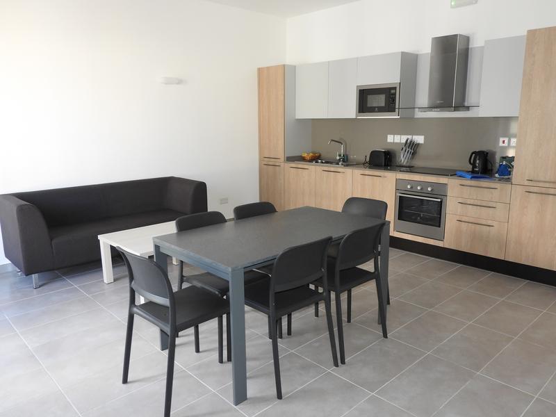 Sprachaufenthalt Malta, St Julians - European School of English Malta - Accommodation - Central Apartment - Wohnzimmer