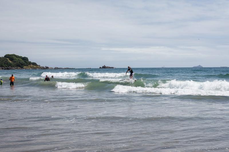 Sprachaufenthalt Neuseeland, Mount Maunganui Language Centre - Surf