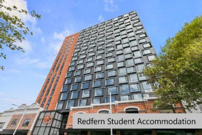 Sprachaufenthalt Australien, Sydney - Langports Sydney - Accommodation - Redfern Student Apartments - Gebäude