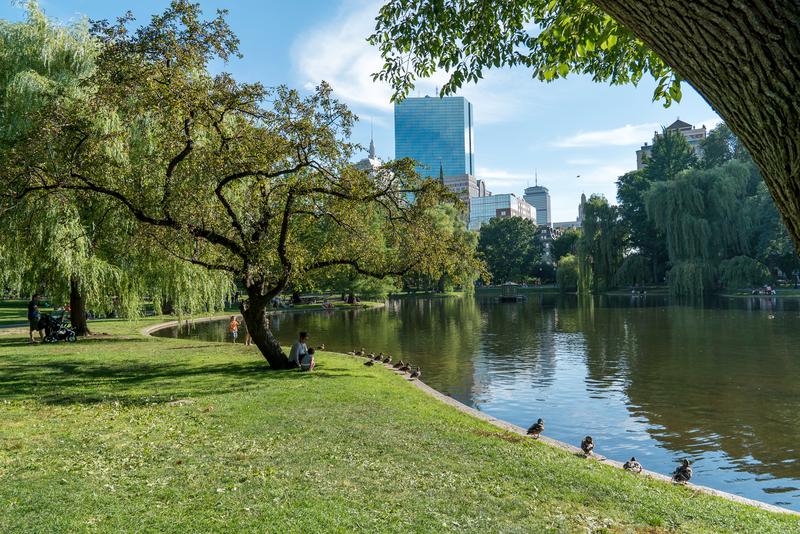 Séjour linguistique États-Unis, Boston - Parc
