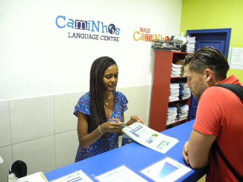 Séjour linguistique Brasilien, Rio de Janeiro - Caminhos Language Centre Rio de Janeiro - Réception